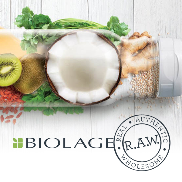 biolage raw hair salon products windsor